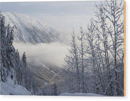 Shames Mountain Wood Print