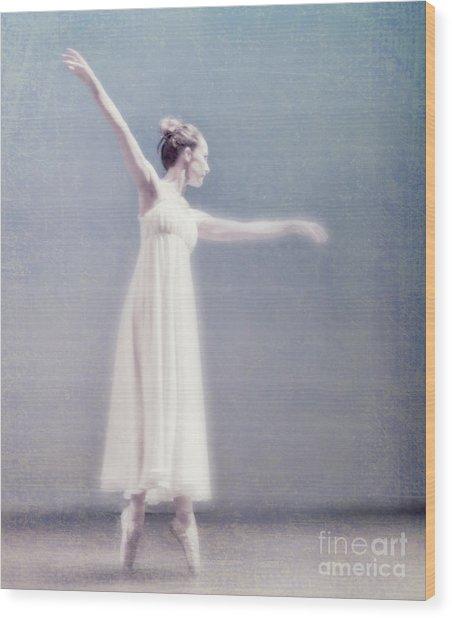 She Dances Wood Print