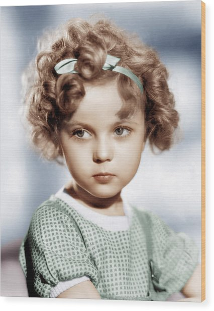 Shirley Temple, Ca. 1934 Wood Print