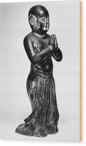 Shotoku Taishi (574-622) Wood Print