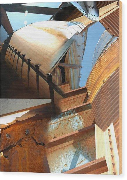 Siloh Climb Wood Print