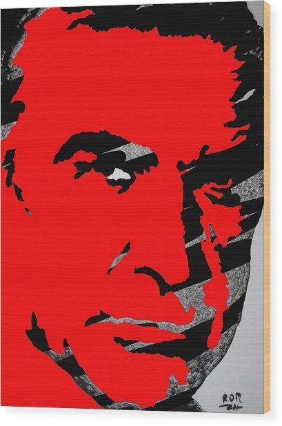 Sir Sean Connery Wood Print