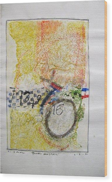 Sketchbook 1  Pg 38 Wood Print by Cliff Spohn