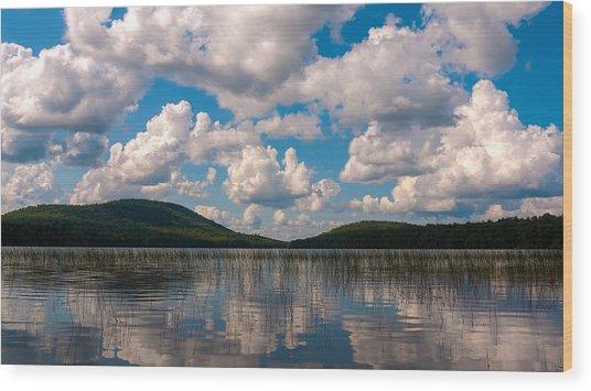 Sky At Fawn Lake Wood Print