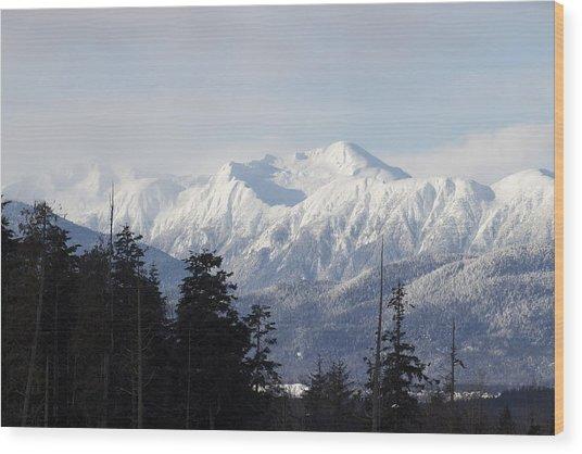 Sleeping Beauty Mountain Wood Print