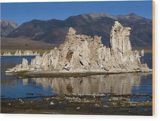 South Tufas And Eastern Sierra Nevada Wood Print