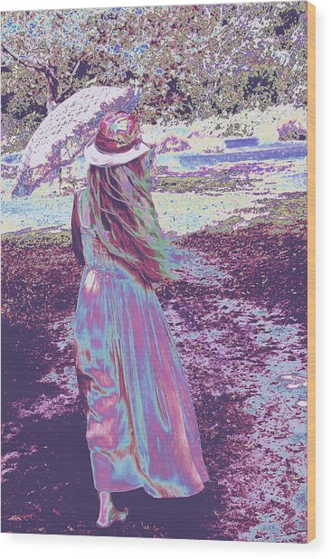Southern Lady Wood Print
