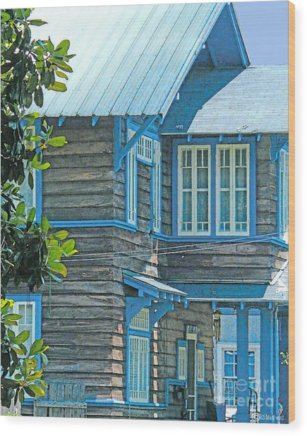 Spanish Town Blues  Wood Print