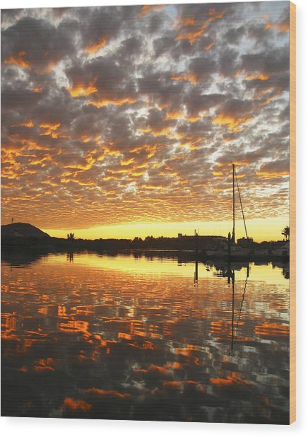 Spectacular Mazatlan Sunset Wood Print