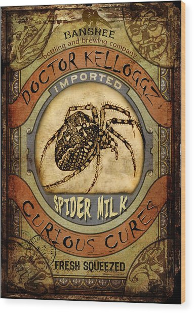 Spider Milk Wood Print