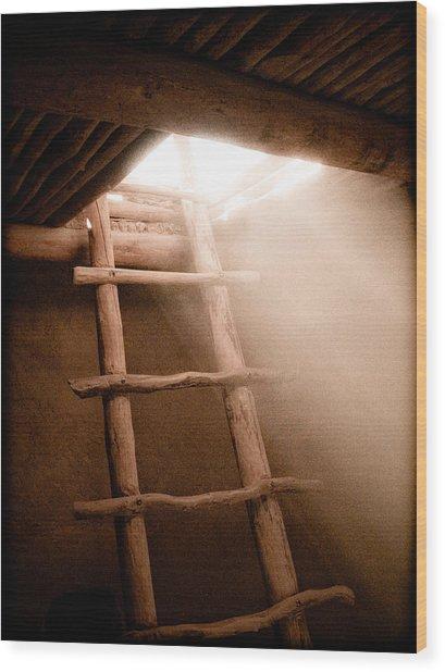 Spirit Ladder Wood Print
