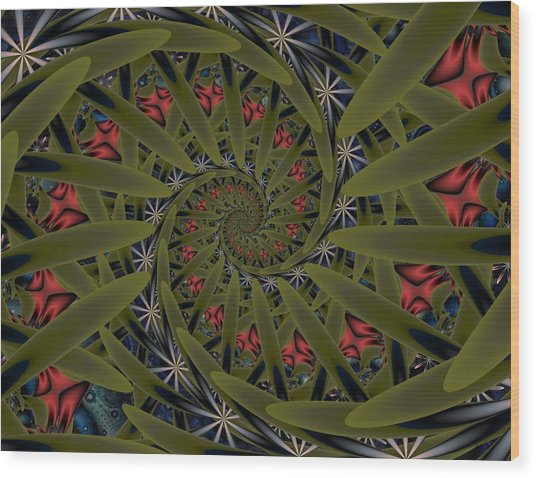 Splendor In The Grass Wood Print