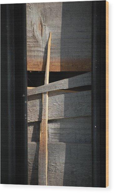 Splinter Wood Print by Dickon Thompson