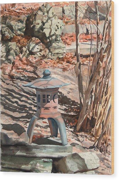 Spring Shadows Wood Print by Peter Sit