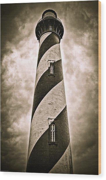 St Augustine Lighthouse Wood Print
