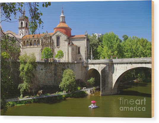 St Goncalo Cathedral Wood Print