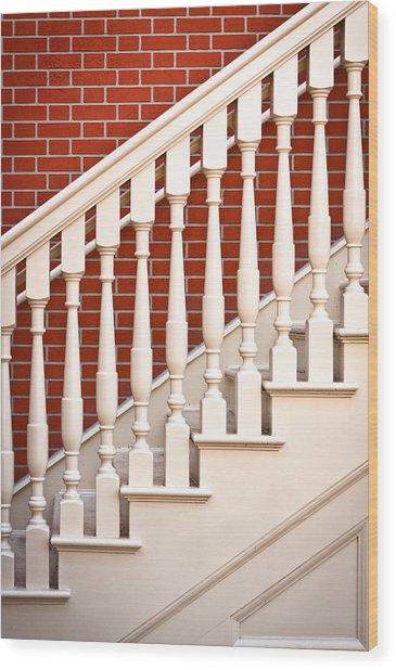 Stair Case Wood Print