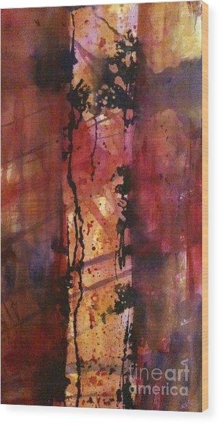 Standing Alone II Wood Print