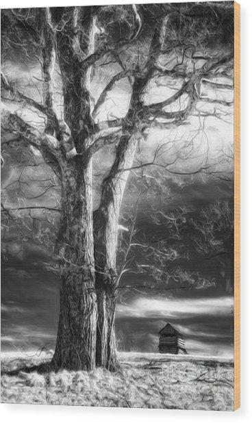 Standing Guard II Wood Print