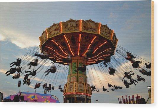 State Fair Wood Print