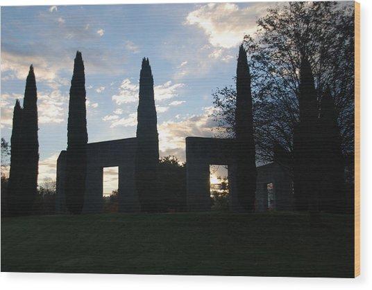 Stonehenge Wood Print