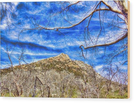 Stonewall Peak Wood Print by Jeffery Reynolds