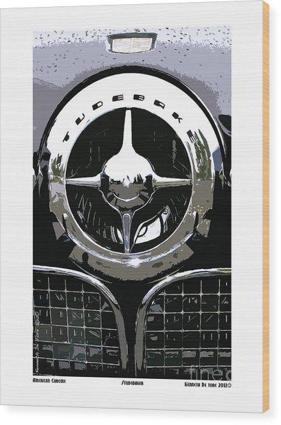 Studebaker American Chrome Wood Print