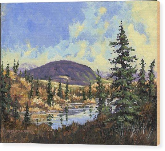 Sugarloaf Mountain Wood Print