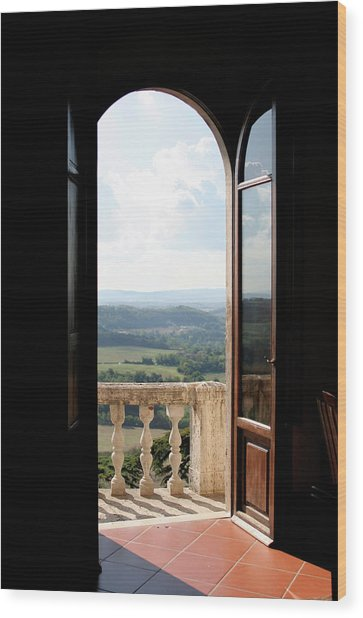 Wood Print featuring the photograph Sunlight And Shadow by Vicki Hone Smith