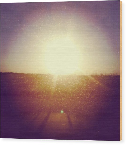 #sunrise #nature #sky #andrography Wood Print by Kel Hill