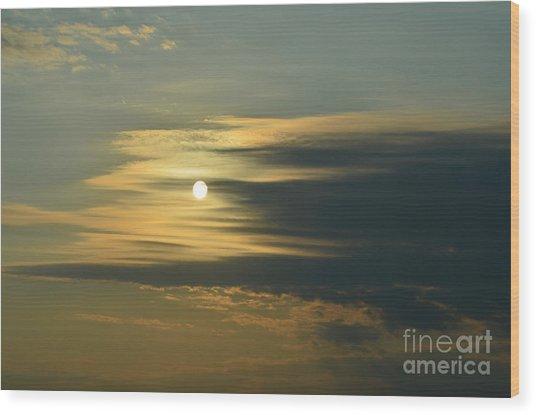 Sunrise Wood Print by Paulina Roybal