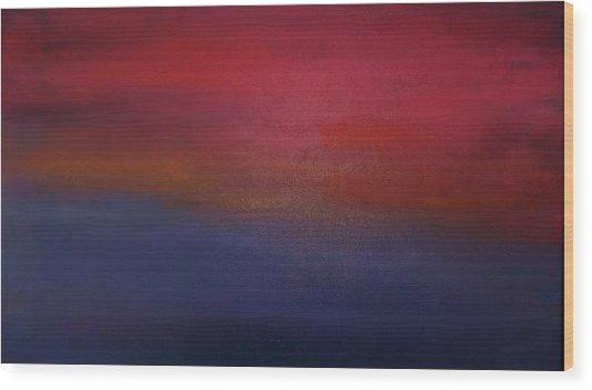 Sunrise Sunset Wood Print by Alanna Hug-McAnnally