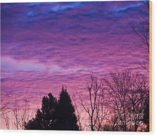 Sunrise Surprise 2 Wood Print by Scotts Scapes