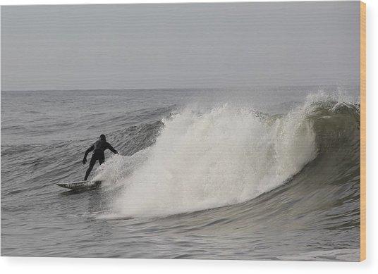 Surf 1 Wood Print by Dan Madden
