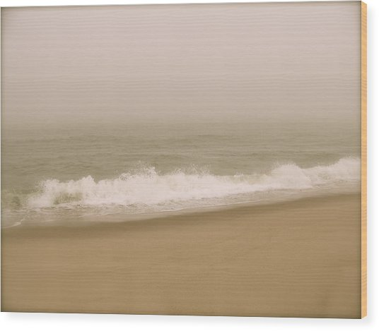 Surf And Sand Wood Print