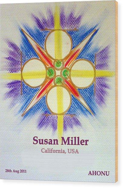 Susan Miller Wood Print