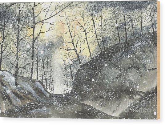 Swamp Rabbit Trail Three Wood Print