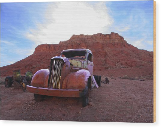 Sweet Ride Wood Print