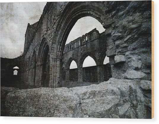 Sweetheart Abbey Wood Print
