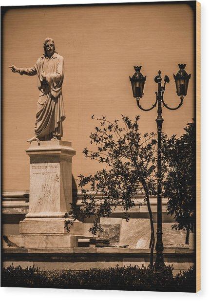 Athens, Greece - Swinger Wood Print