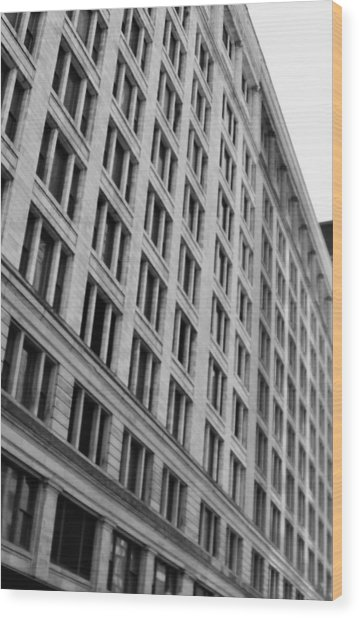 Symmetry Wood Print