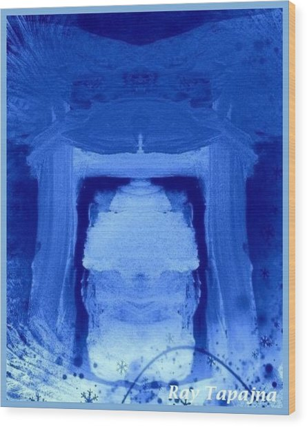 Tabernacle Of Hope Wood Print by Ray Tapajna