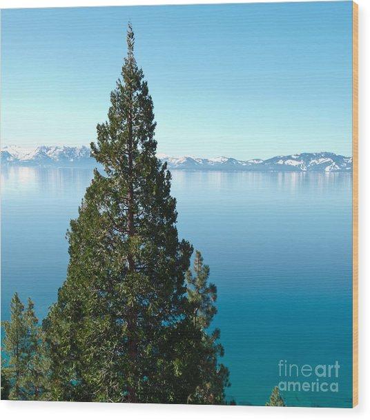 Tahoe Tranquility Wood Print