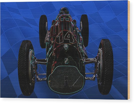 Talbot Lago T26c Body 110054 Wood Print by Mike  Capone