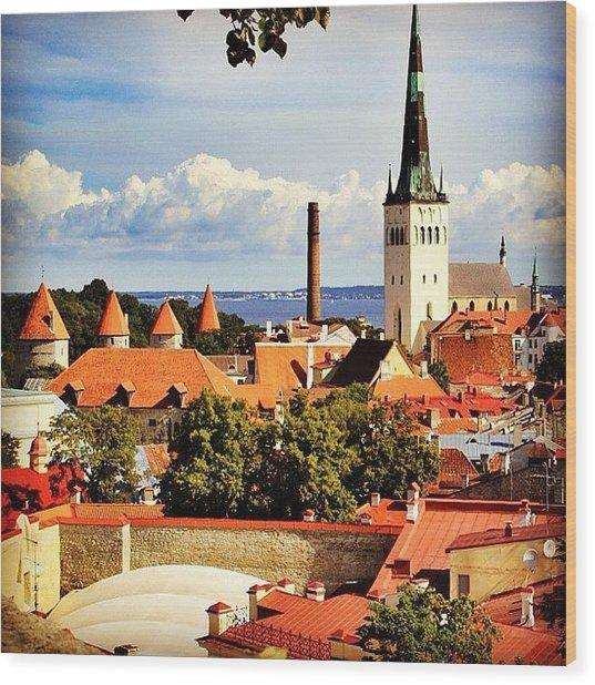 Tallinn - Estonia Wood Print