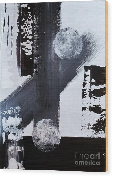 Tandem Wood Print