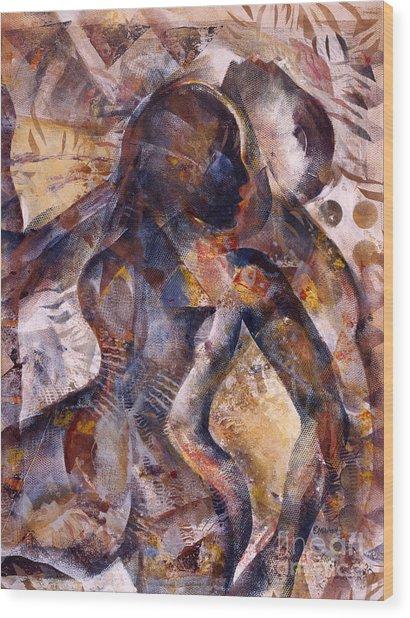 Tango Wood Print by Charles B Mitchell