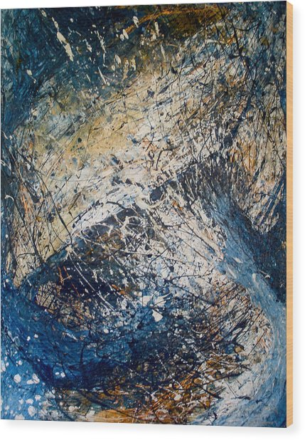 Tantric Sea Wood Print
