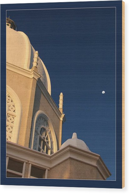 Temple Is Listeneng Wood Print by Alexey Dubrovin