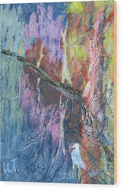 Texture Of Nature 1 Wood Print by Warren Thompson